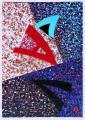 Táncoló angyalok, 1988, a, v, 100x70 cm
