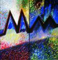 Kapcsolat (Angyalok, Diptychon), 1997, a, v, (2x) 240x120 cm