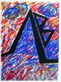 A jel, 1998, 54x40 cm