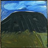 Kőhegy, 1996, a, fa, 15x15 cm