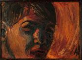 Önarckép, 1965, o, karton, 24x33 cm