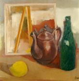 Csendélet, 1967, o, fa, 51x50 cm