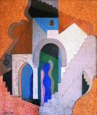 Szentendre, 1973, o, p, farost, 76x65 cm