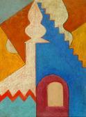 Szentendre, 1973, o, p, fa, 80x60 cm