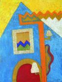 Motívumok, 1973, o, p, farost, 82x62 cm