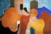 Őrangyal, 1976, o, p, farost, 70x110 cm