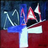 Álmos, 1984, a, v, 40x40 cm