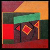 Rovásikon, 1984, a, v, 40x40 cm
