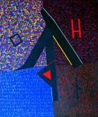 Ballada, 1986, a, v, 70x60 cm