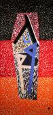 In memoriam II., 1986, a, v, 220x106 cm.