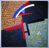 Angyali üdvözlet, 1987, a, v, 180x180 cm