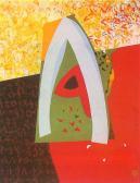 A nagy utazás, 1987, a, v, 100x80 cm