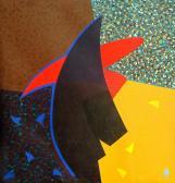 Nagy utazás, 1991, a, v, 120x115 cm