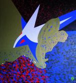A nagy utazás (Fecske), 1987, a, v, 100x95 cm