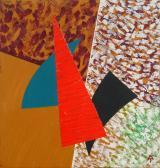 Megölt angyal, 1990, a, v, 28,5x27,5 cm