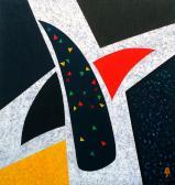 Korpusz, 1990, a, v, 120x110 cm