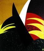 Ecce homo, 1990, a, v, 100x90 cm