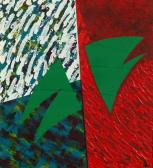 Kétszárnyú repülés, 1992, a, v, 31x28,5 cm