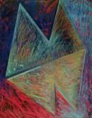 Föld és ég között, 1993, p, karton, 70x50 cm