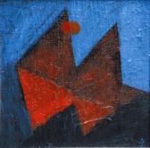 Földközelben, 1997, a, v, 20x20 cm (Miki)