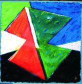 Születés (A remény angyala), 2002 a, v, 75x75 cm