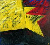 Napfényben, 1996, a, v, 90x100 cm