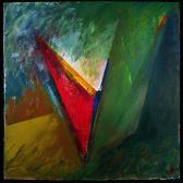 Dorkói angyal 1996, a, m papír, 75x75 cm