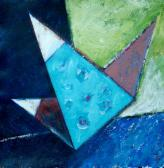 Hommage a Matyó, 2004, a, m papír, 75x75 cm
