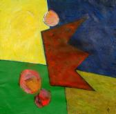 Az égi hajós, 1998, a, m papír, 75x75 cm
