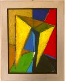 Ég és föld között, 2002, a, v, 40x30 cm