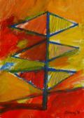 Dolmár-angyal, 1997, a, m papír, 60x45 cm