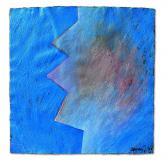 Túlvilági kapcsolat, 1996, a, m papír, 75x75 cm