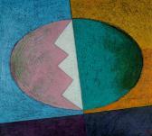 Kapcsolat, 2002, o, p, fa, 80x90 cm
