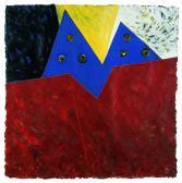 Éjszaka, hajnal, nappal, 1997, a, m papír, 75x75 cm