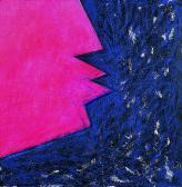 Hajnal, 1997, a, m papír, 75x75 cm