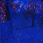 Kapcsolat I., 1997, a, m papír, 150x150 cm.