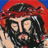 A Megváltó, 2002, a, v, 30x30 cm