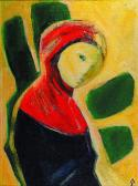 Szomorú angyal, 2001, a, v 65x48 cm