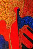 Angyalikon, 1997, a, v, 35x24 cm
