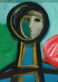 Festőangyal, 2008, a, v, 17x13 cm
