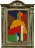 Emlék, 2008, a, v, egyedi keret, 47x27 cm