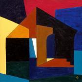 Emlék, 2006, a, v, 30x30 cm
