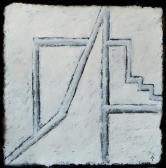 Hajlék, 2005, a, m papír, 75x75 cm
