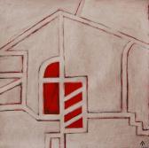 Emlék, 2008, a, m papír, 75x75 cm