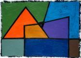 Emlék, 2006, a, m papír, 30x40 cm