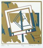 Álom, 1984, 15x15 cm