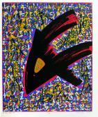 A nagy utazás, 1987, 60x49 cm