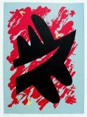 Kitörés, 1989, 27x19 cm