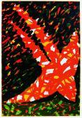 Üzenet, 1992, 74x51 cm