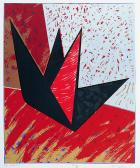 Égi vándor, 1995, 47x39 cm (G
